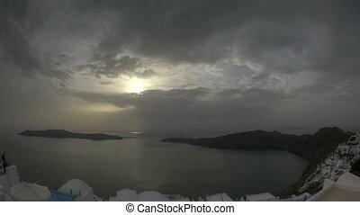 Santorini Imerovigli - Sunset in Santorini Imerovigli