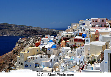 Santorini Island - Travel photography: Beautiful island of...