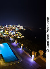 Santorini night - Greece