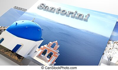 Santorini places to visit in slideshow like set photos and...