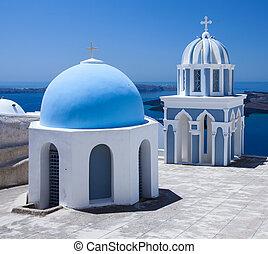 Santorini, scene