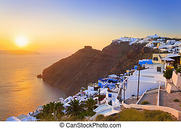 Santorini sunset - Greece