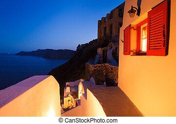 Sunset Villa, Santorini Island, Greece