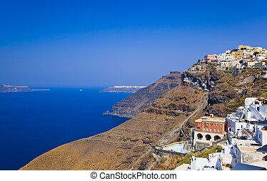 Santorini View - Greece - Santorini View (Fira), Greece -...
