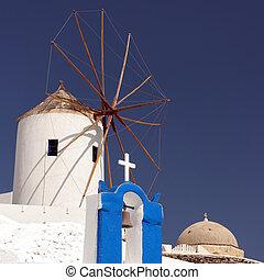 Santorini Windmill 04