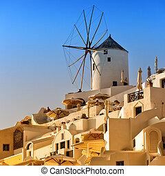 Santorini Windmill 05
