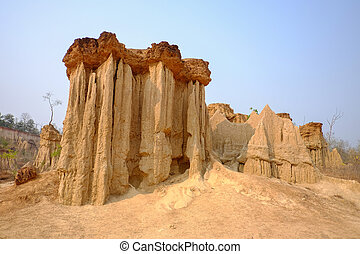 "Sao Din Na Noi - The pillar of the soil is called ""Sao Din..."