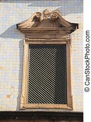 Sao Francisco Church window - Detail. Sao Francsico Church...