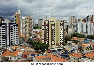 Downtown Sao Paulo Brazil The third largest city in the world with a population of over 18 million people