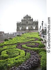 (sao, paulo, church), santo, macao, catedral, paul