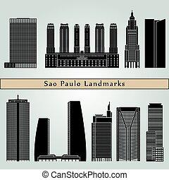 Sao Paulo V2 landmarks and monuments