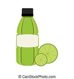 sap, fruit, citroen, pictogram
