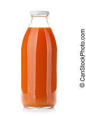 sap, wortel, fles