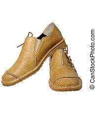 sapatos, confortável