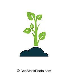 sapling icon design