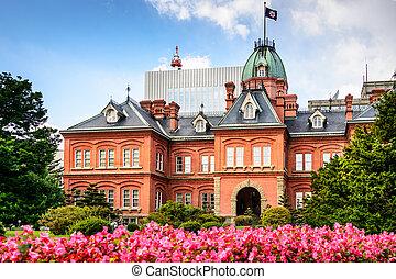 Sapporo Government Building - Former Hokkaido Government ...