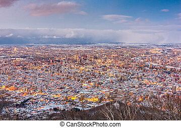Sapporo, Japan Skyline