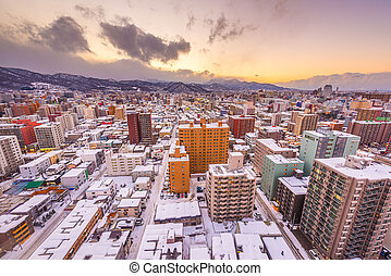 Sapporo, Japan Winter Skyoine - Sapporo, Japan winter ...