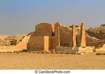saqqara, エジプト, 台なし