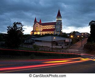 Saqrado Corazon al Jesus Church - Puerto Varas - Chile - The...