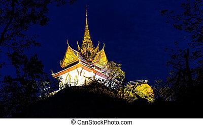 saraburi, phrabuddhachay, thailand., 寺院