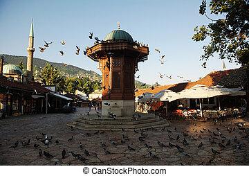 sarajevo city in bosnia - sarajevo capital of bosnia in...