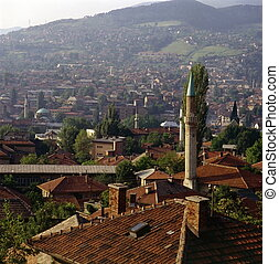 Sarajevo in Bosnia-Herzegovina