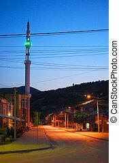 Sarajevo the capital of Bosnia and Herzegovina in the summer