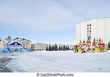 saransk, 市の, 風景