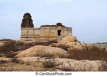 Saraswathi Temple near the Octagonal bath, Royal Center or ...