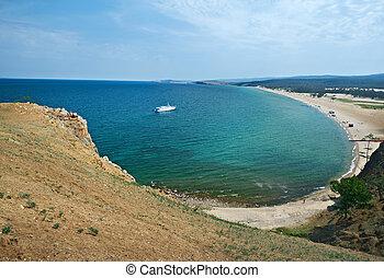 sarayskiy beach,