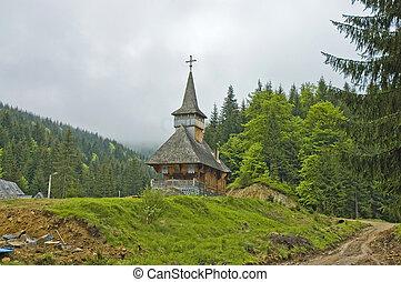 Sarbi village in Maramures, Romania