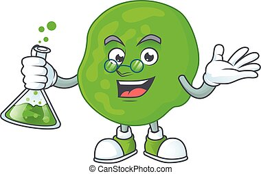 Sarcina ventriculli smart Professor Cartoon character ...