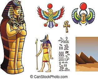 sarcofago, egiziano
