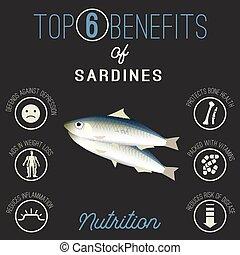 Sardines beans benefits