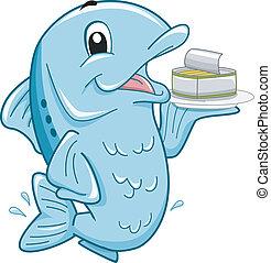 Sardines Mascot