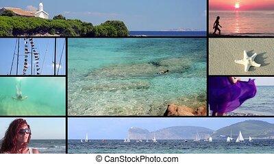 Sardinia, montage