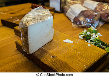 Sardinian seasoned cheese