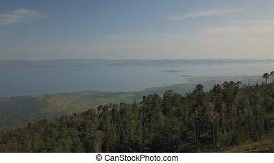 sarma, воздух, озеро, посмотреть, сибирь, байкал, долина