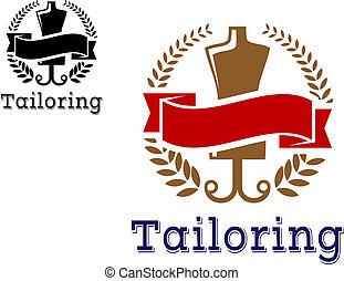 sartoria, moda, emblema
