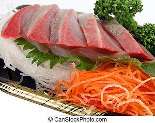 Sashimi close-up
