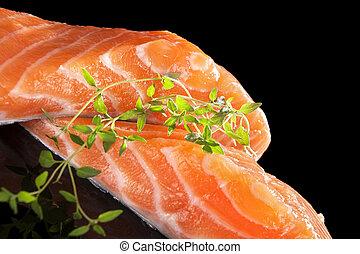Sashimi sushi.