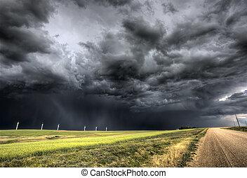 saskatchewan , θαμπάδα , καταιγίδα