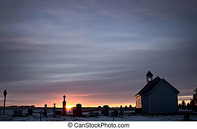Saskatchewan Prairie Sunset