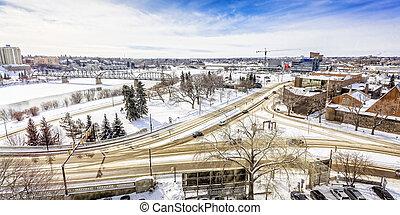 Saskatoon in Winter
