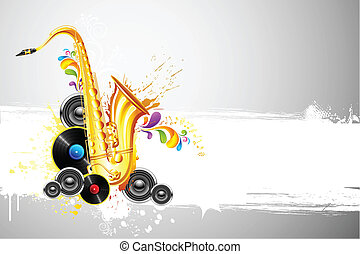 sassofono, altoparlante