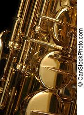 sassofono, dettaglio