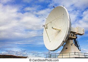 satélite, observatorio, platos, nacional, astronomía de ...