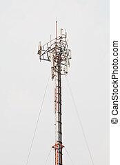 satélite, poste