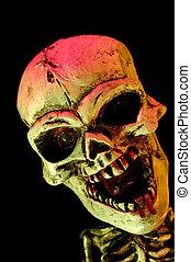 Satan - Abstract Photo of a Satan  -  Halloween Related